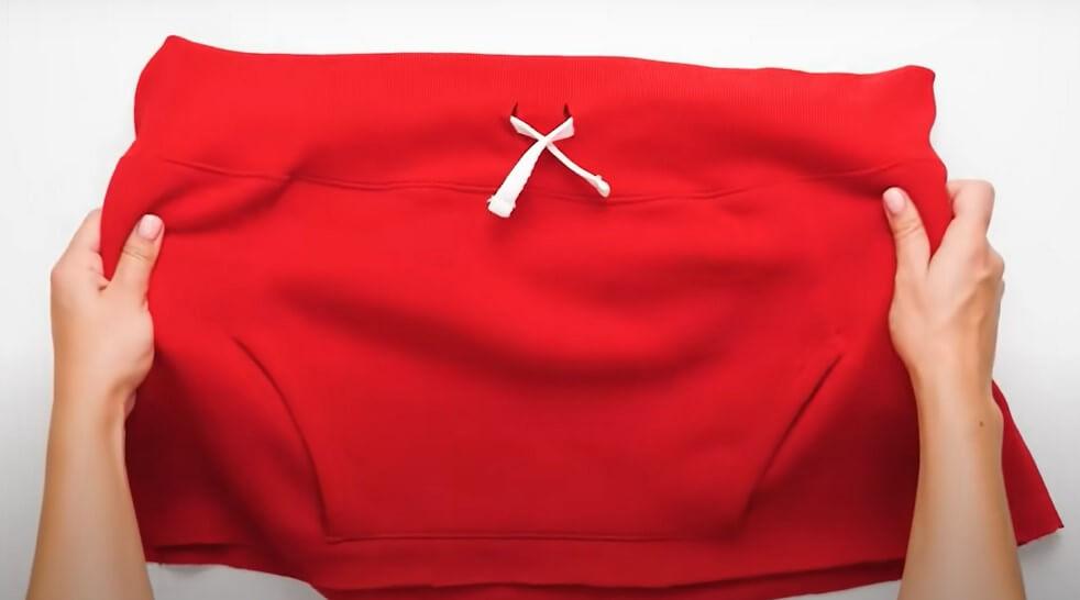 falda sudadera