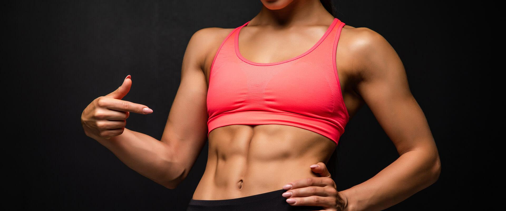 ejercicios para reducir el abdomen y cintura con AB Tomic