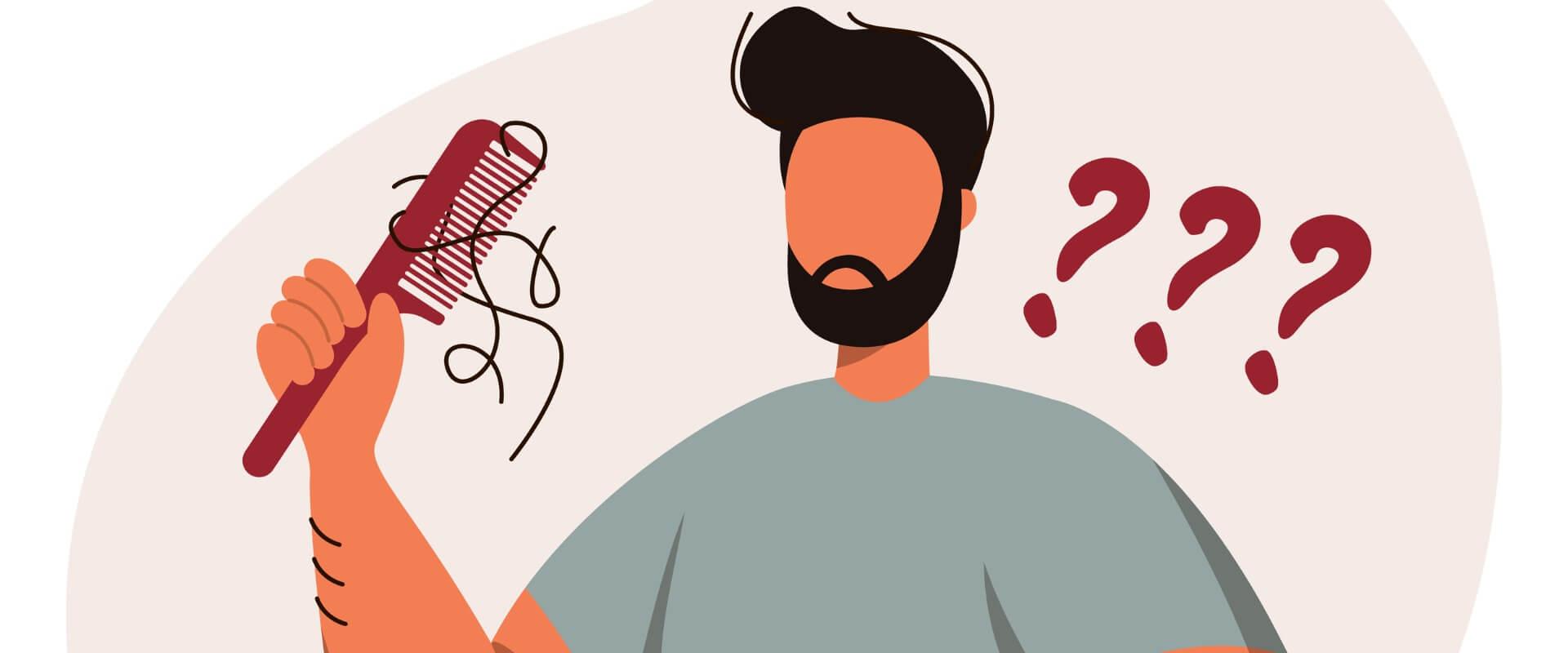 caída del cabello después del coronavirus