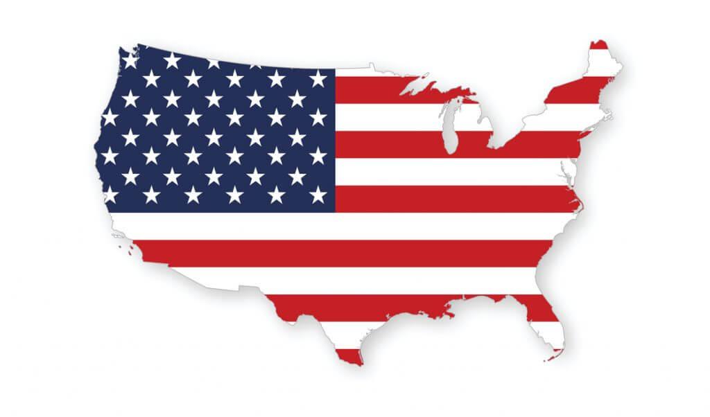 Mapa de Estados Unidos