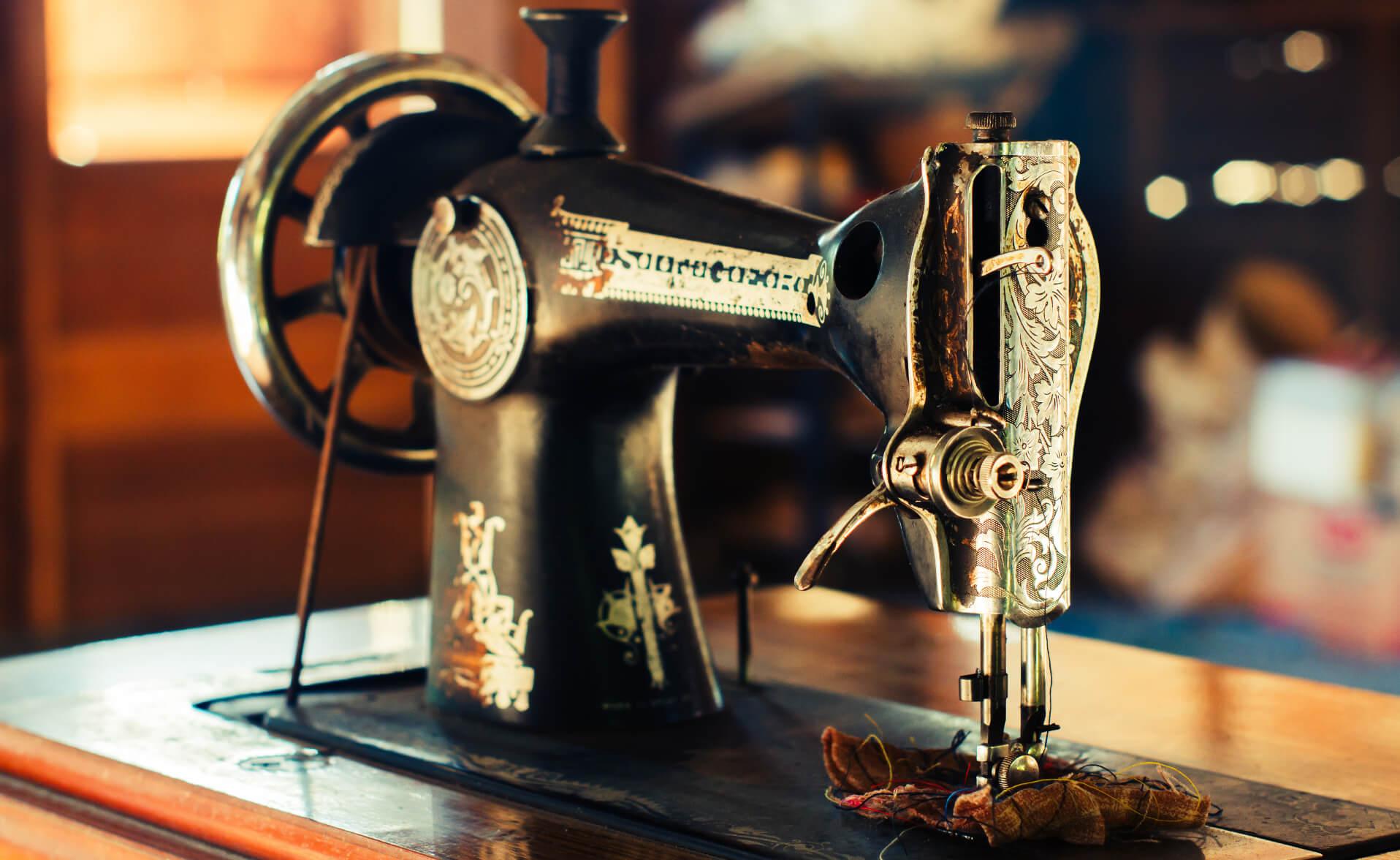 máquinas de coser datos importantes costura