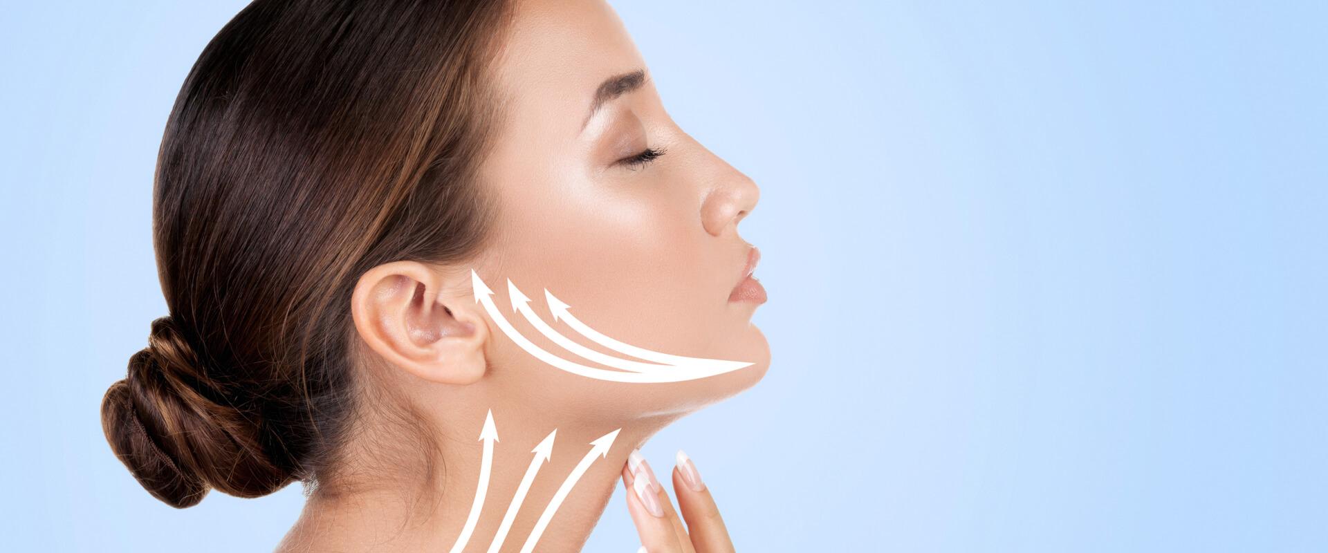 Eliminar la flacidez de tu rostro