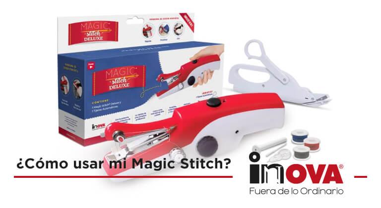 Photo of ¿Cómo usar mi máquina de coser portátil Magic Stitch?