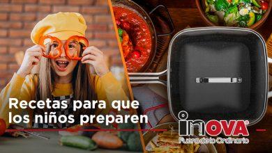 Photo of Recetas para que los niños preparen