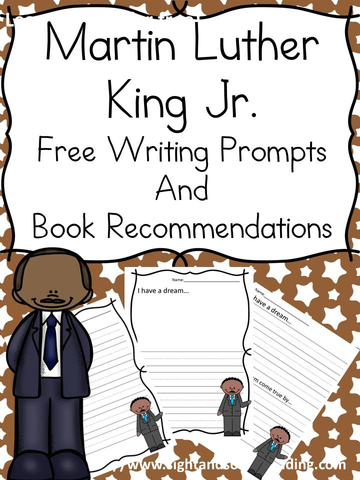 This Martin Luther King Day Lesson is great for preschool, kindergarten or 1st grade. It has book recommendations, free writing prompts, & discussion ideas.