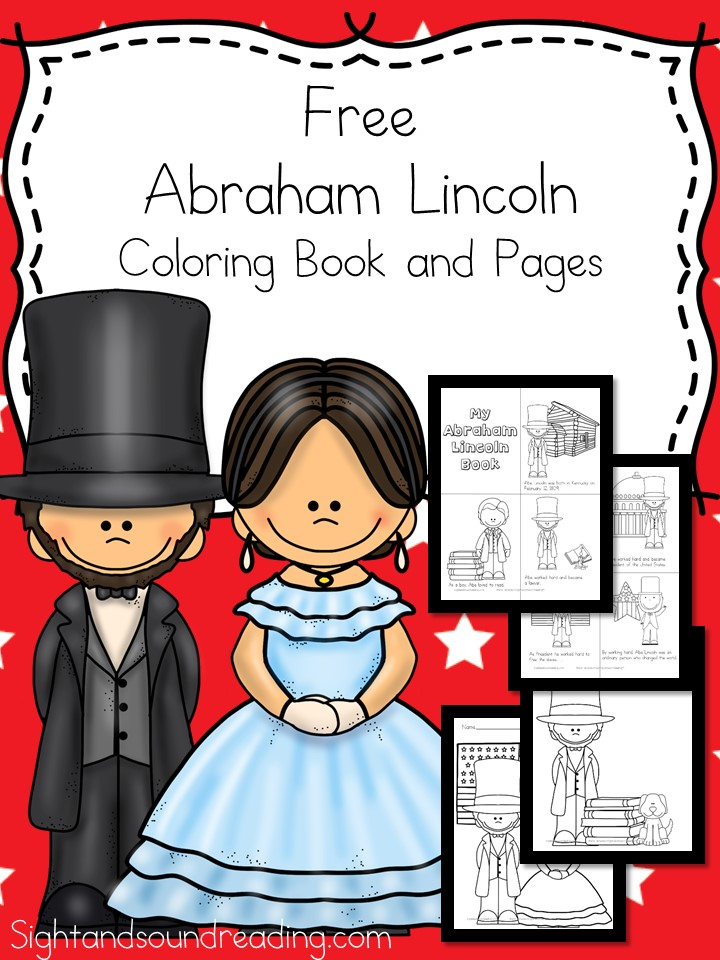 Abraham Lincoln Coloring Pages and Coloring Book