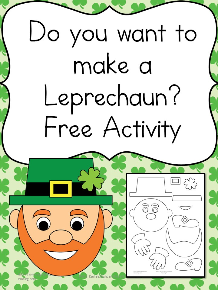 Do you want to make a leprechaun? Cute and fun activity for the little people in your life.