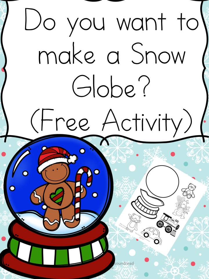 Make a snow glove activity! Great cutting/pasting/coloring skills practice!