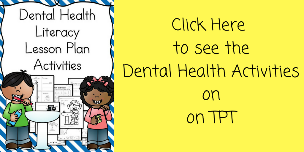 Dental Health Kindergarten Lesson Plan – with a fun craft too!