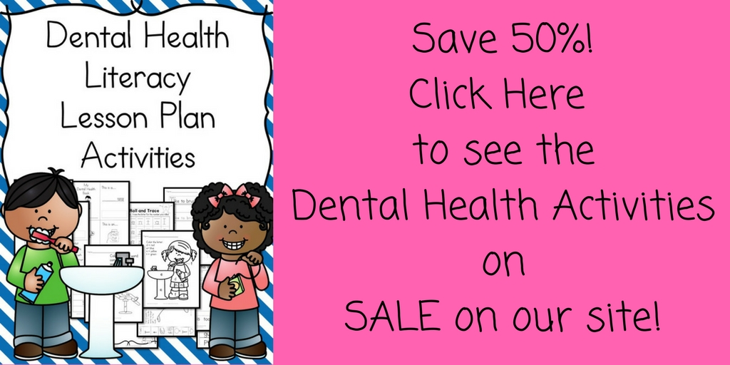 Dental Health Kindergarten Lesson Plan  With A Fun Craft Too