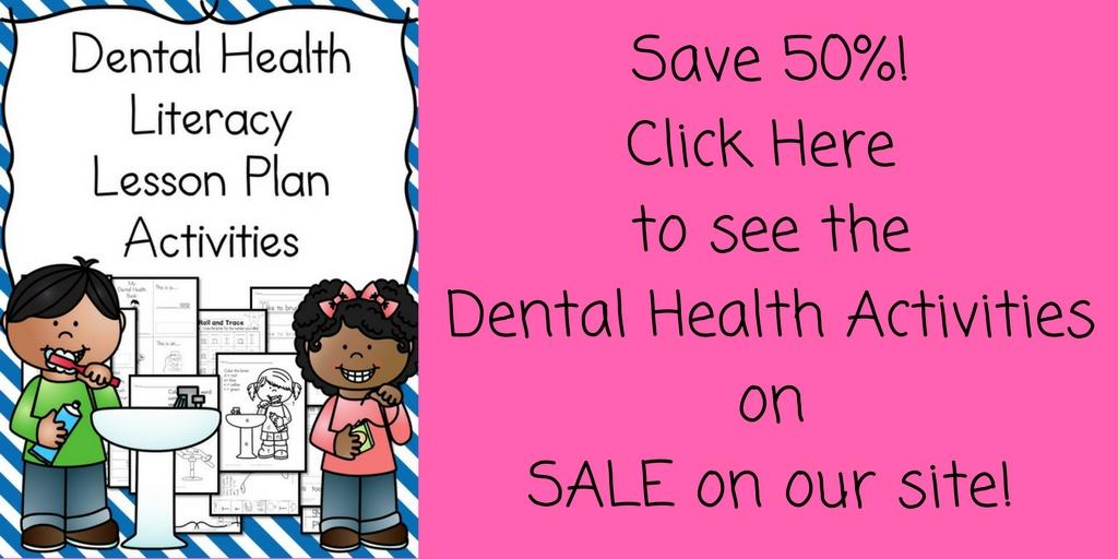 Dental Health Kindergarten Lesson Plan  With A Fun Craft Too
