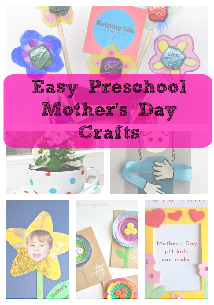 Mother 39 S Day Crafts Gift Ideas Great For Preschool