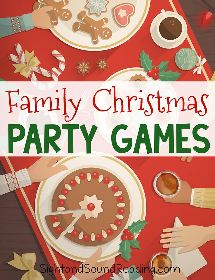 When Hosting Family For Christmas Add To The Festive Mood With Party Games