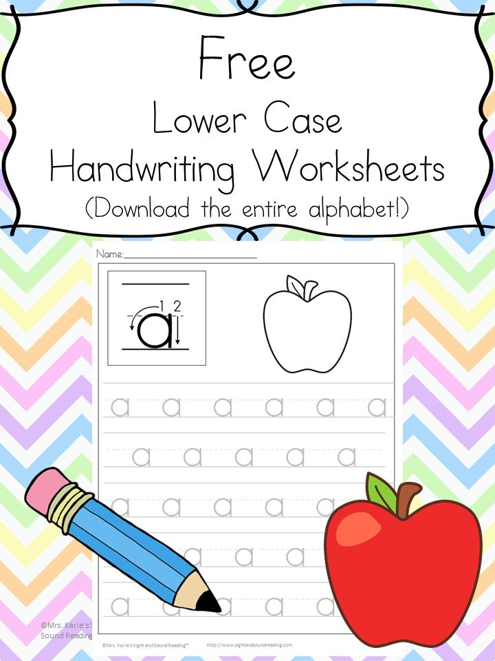 Free Handwriting Practice Worksheets – Handwriting Practice Worksheets Free