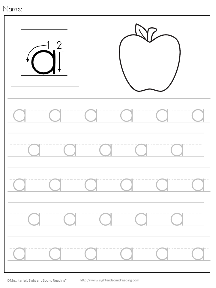Handwriting Worksheets Free Printable- Free Download