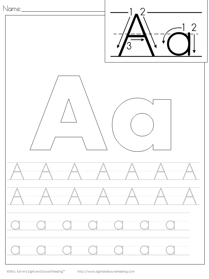 handwriting practice for kids These printable handwriting worksheets feature alphabet letters in uppercase and lowercase, along with wide lines for children to practice writing their letters over.