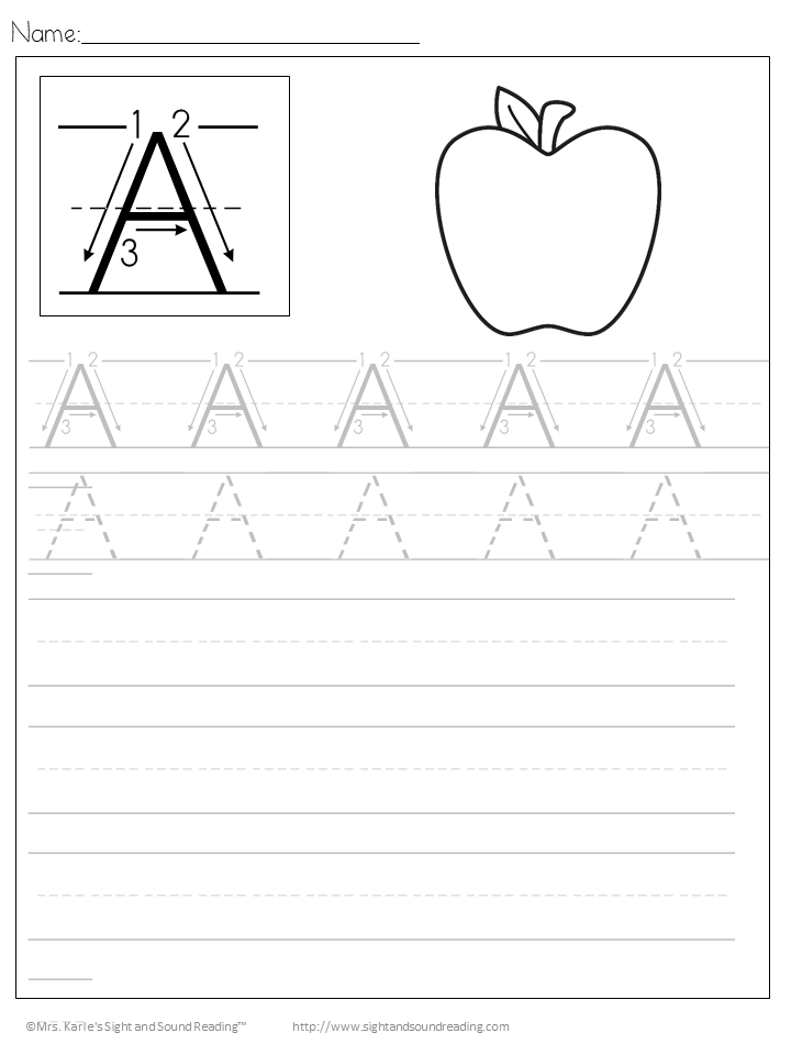 Handwriting Practice Printables - Free Handwriting Practice