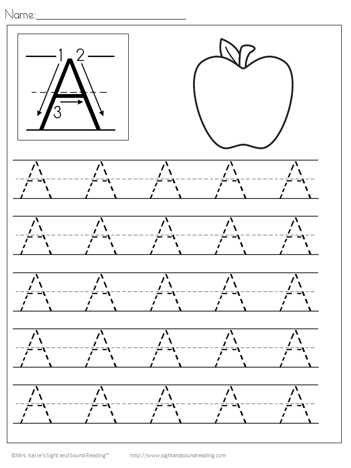 Handwriting Worksheets – Handwriting Worksheets for Kindergarten
