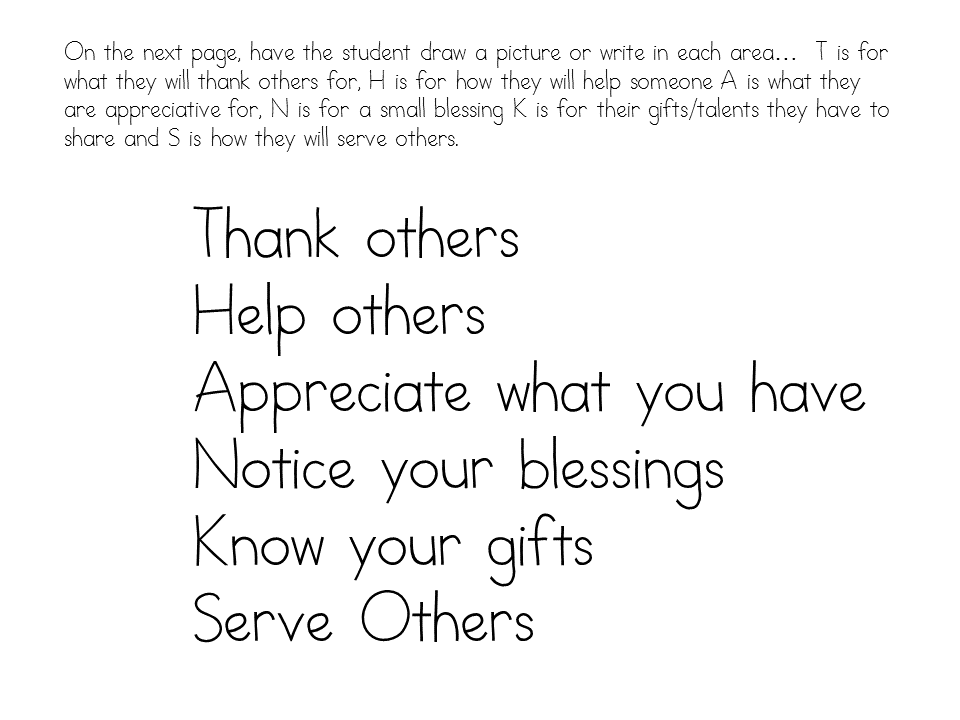 Gratitude Worksheets For Kids Teach Children Gratitude