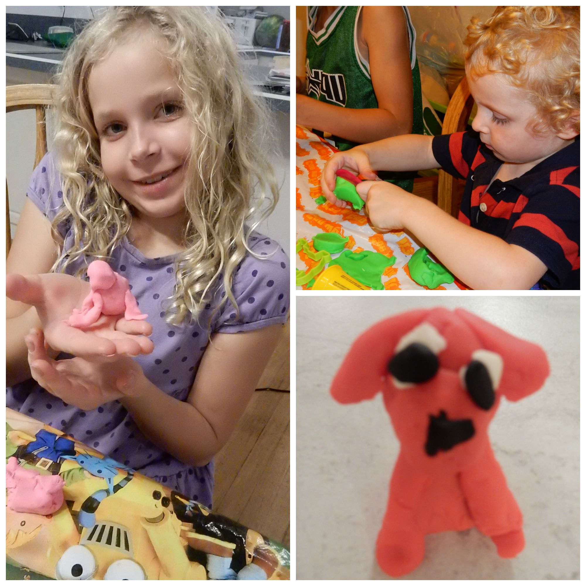 Playdough Crafts and Book Activities