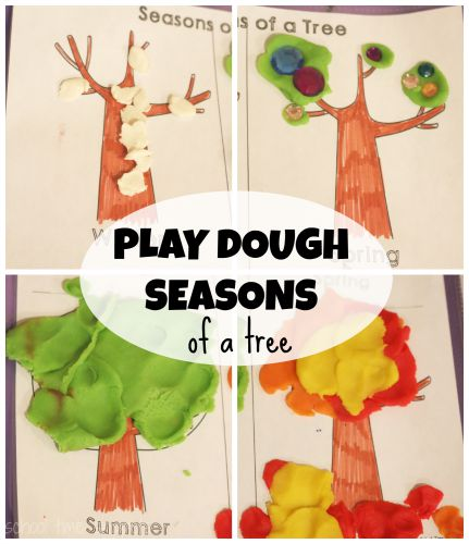 Playdough crafts that go along with books