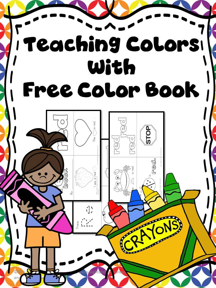 Color Preschool Activities - Free Lesson Plan and Activity