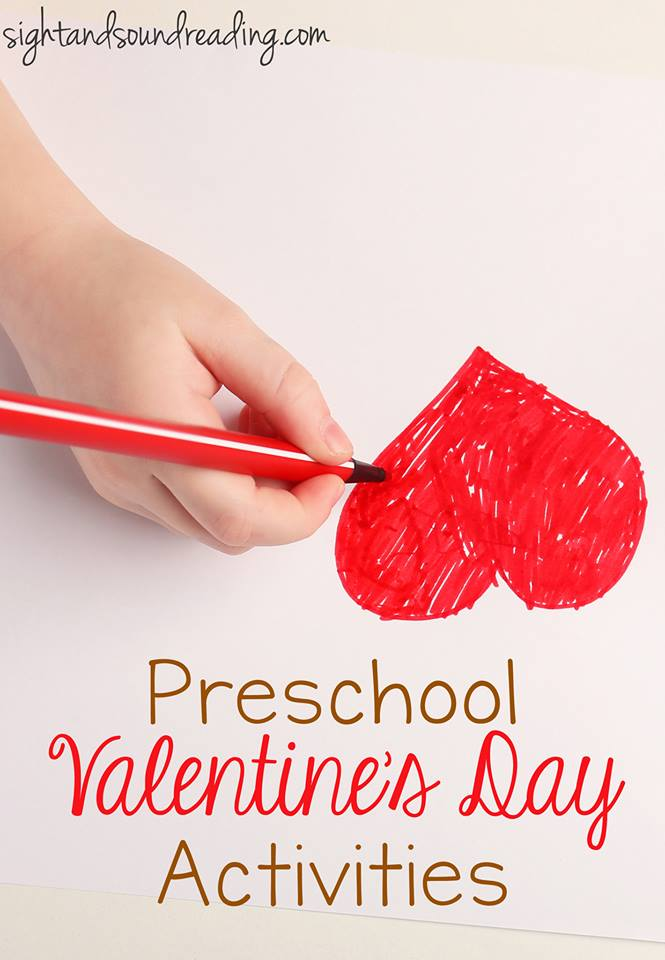 st valentine for preschool coloring page for preschool kindergarten 744
