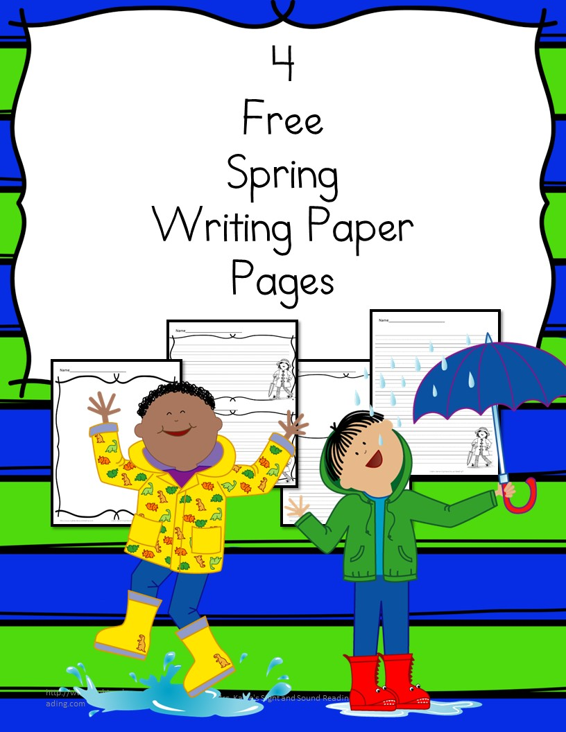 kids writing paper Freebie - editable handwriting paper and i had to create a writing prompt for him our kids still copy some work from the chalkboard into a book.