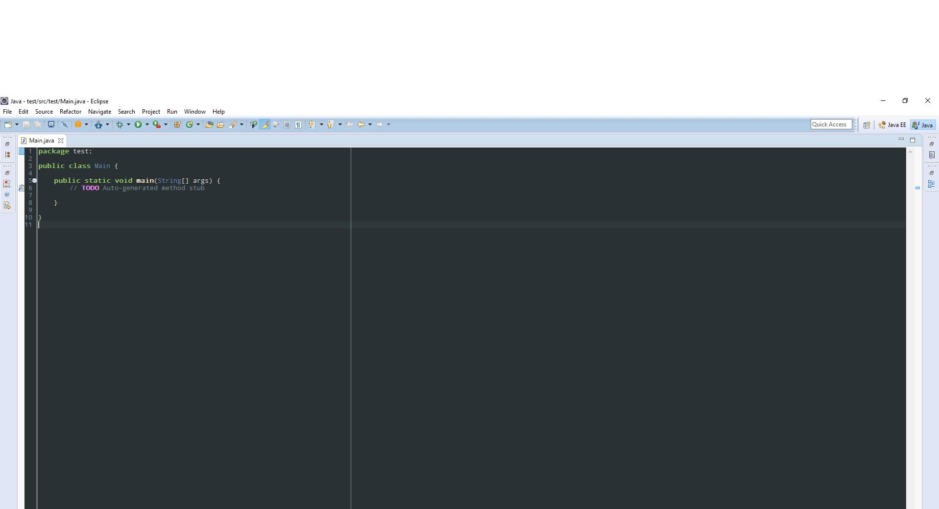 Java Eclipse IDE Tema Düzenleme