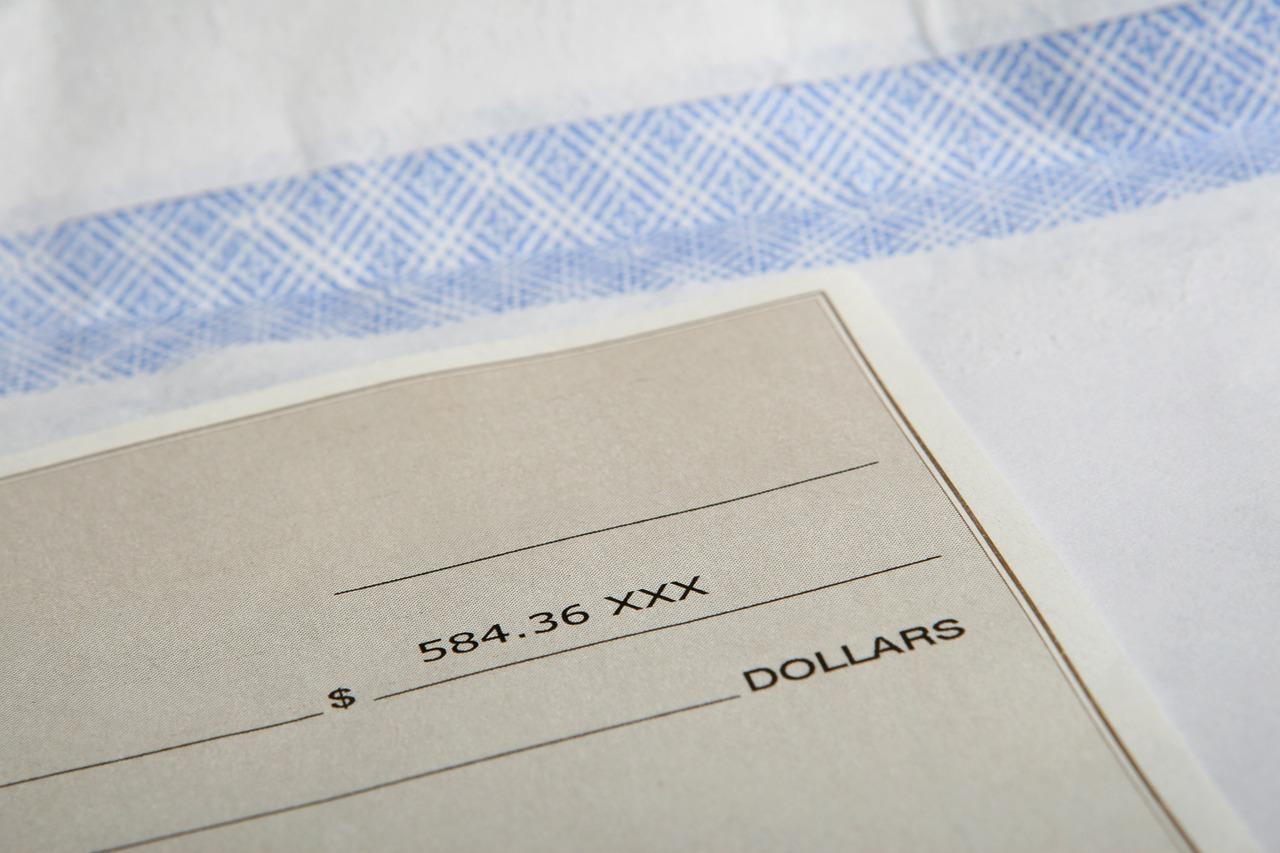 imagem da folha de pagamento de um funcionário