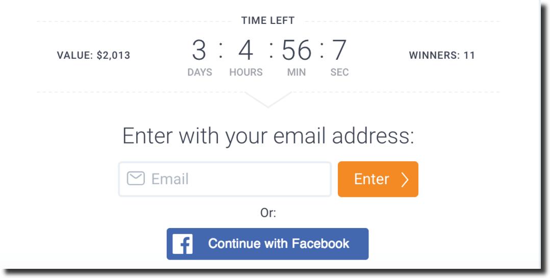 Facebook entry