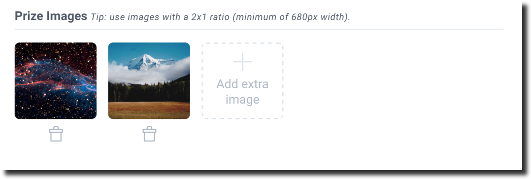 Image increase size