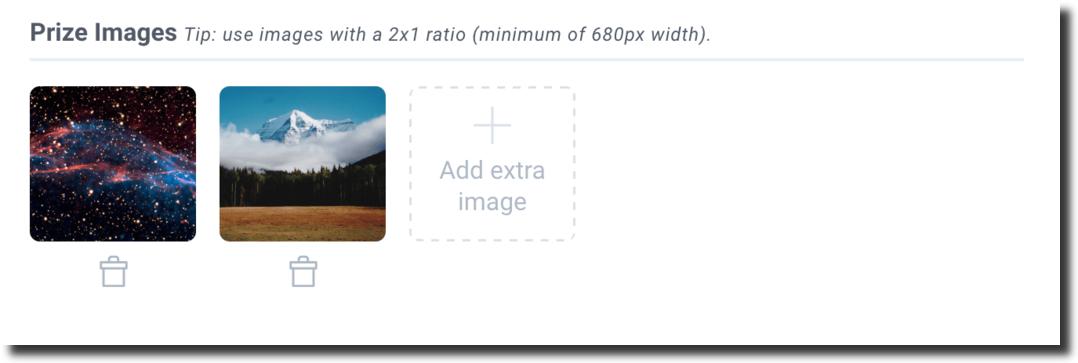 Image increase size