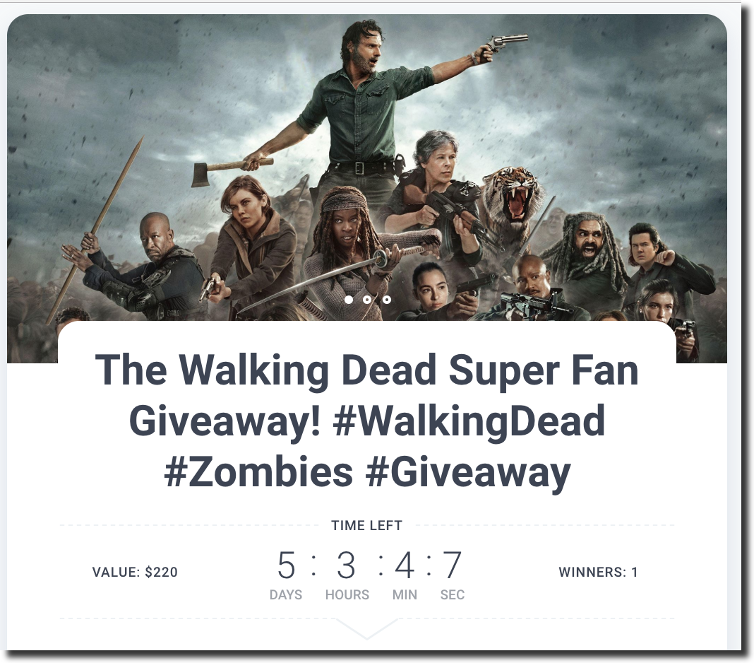 kingsumo blogpost viralgiveaways walkingdead