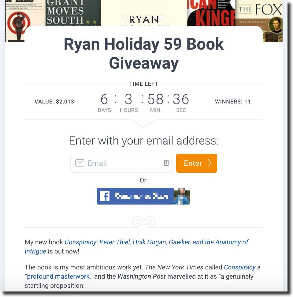 kingsumo blog giveawaypost ryan