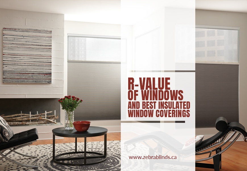 R Value Of Window Treatments Insulating Cellular Shades