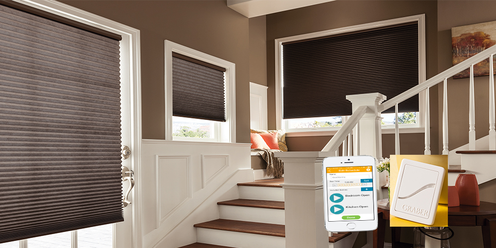 Smartchoice motorized window shades canada for Smart window shades