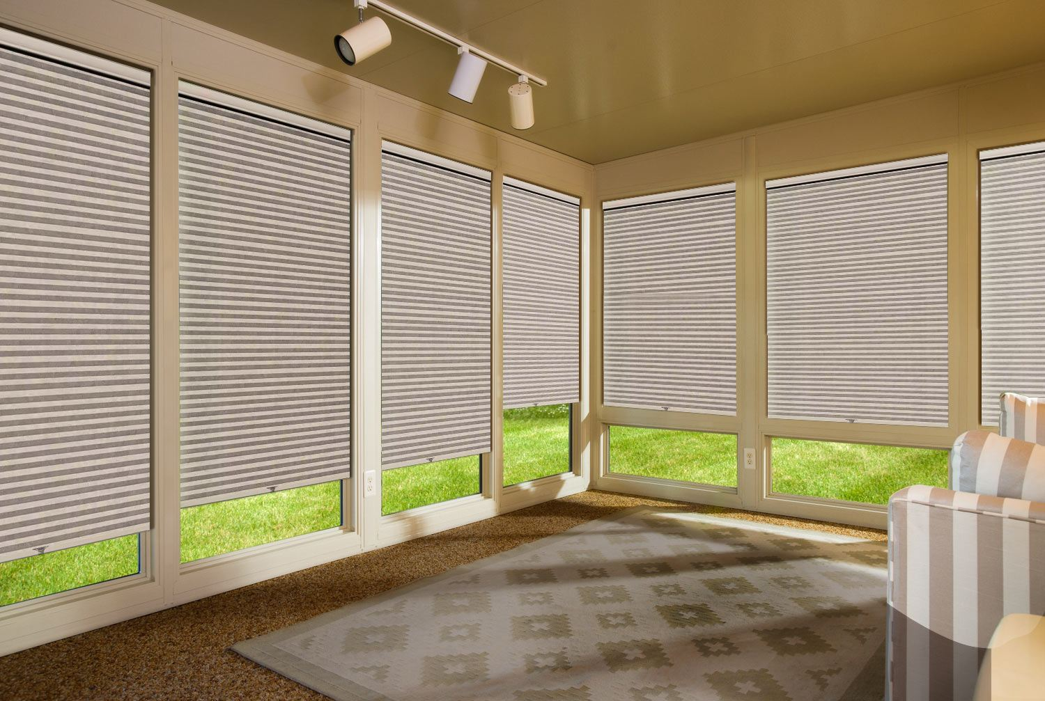 Window Treatments For Your Four Seasons Sunrooms