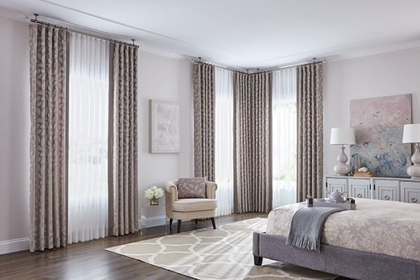 A Step By Step Guide To Hang Curtains Over Vertical Blinds |ZebraBlinds