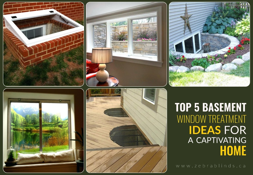 Top 5 Basement Window Treatment Ideas For A Captivating Home