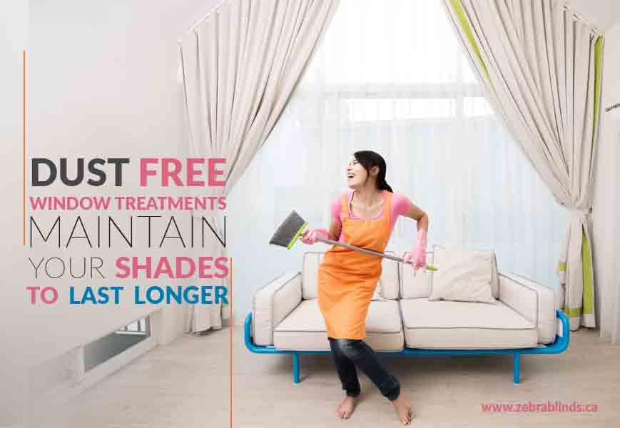 Dust Free Window Treatments