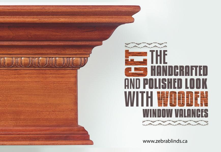 Wooden Window Valances