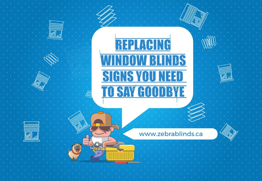 Replace Window Blinds