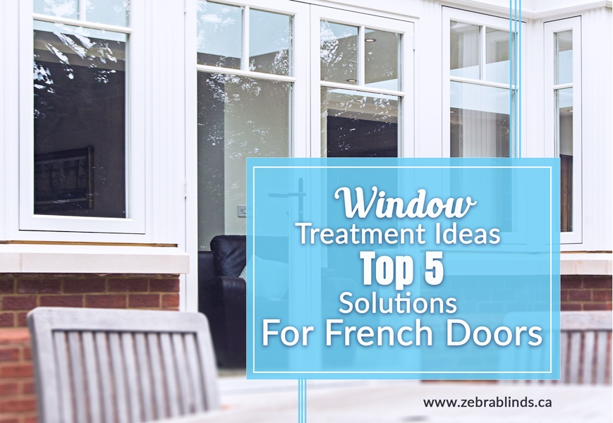 Window Treatments for French Door