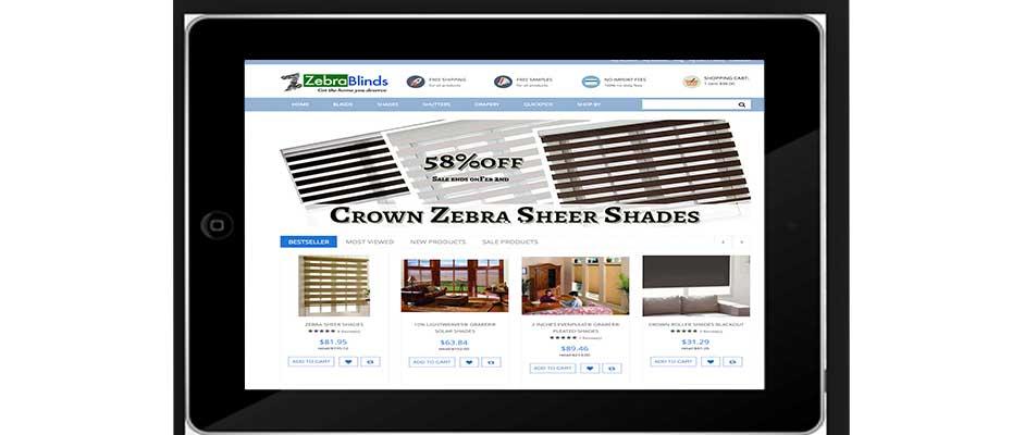 Online-Super-Store -Custom-Blinds - ZebraBlinds.com