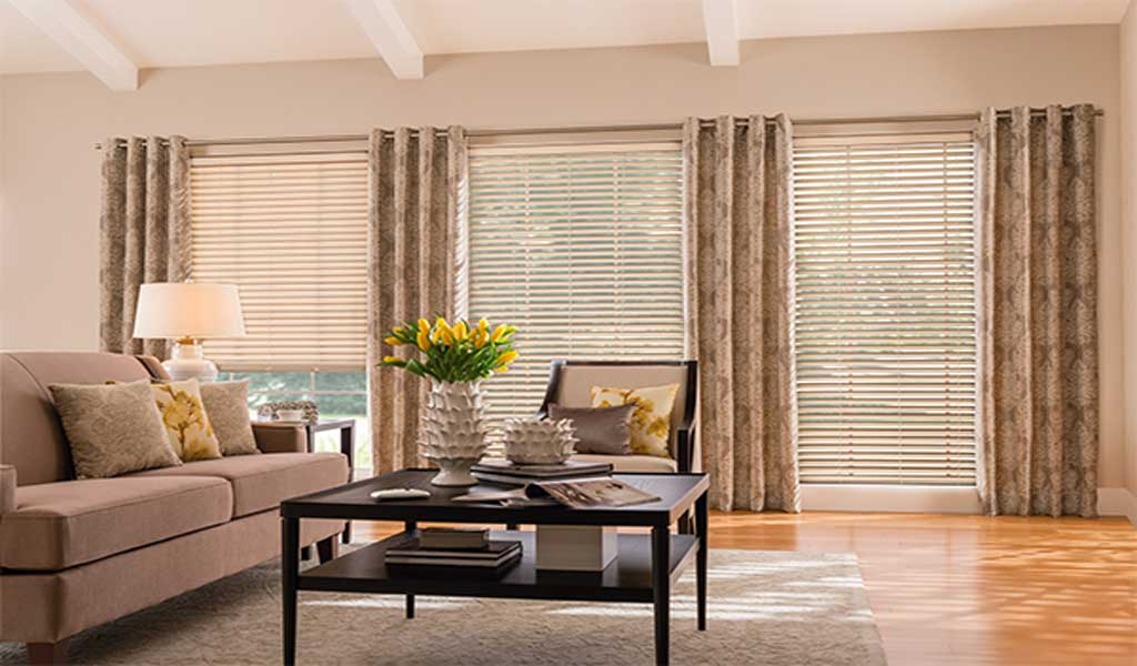 Control Options For Horizontal Blinds And Shades