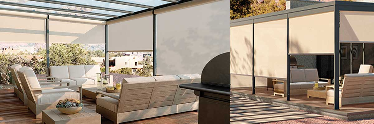 Exterior-Solar-Shades - ZebraBlinds.com