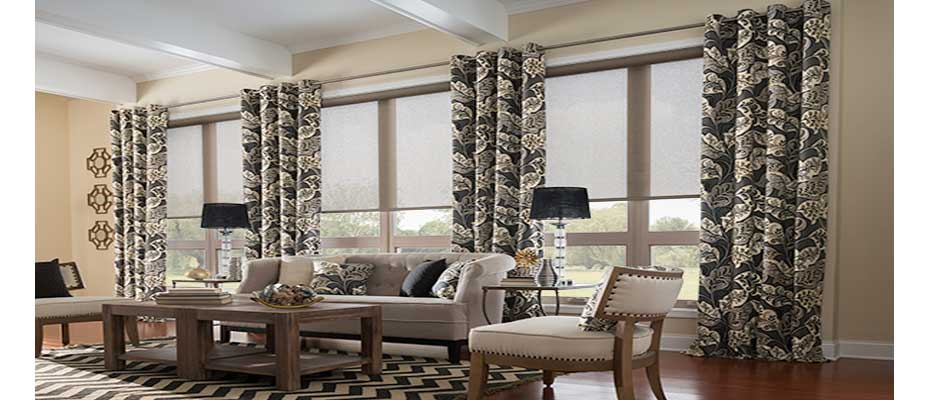 Curtains Ideas blinds and curtains : How to Mix and Match Blinds and Curtains Together