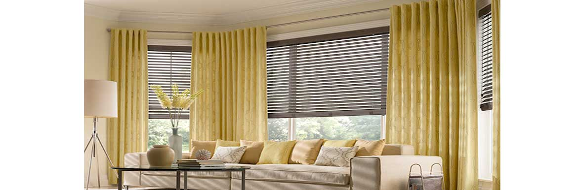Drapes To Shades To Blinds The History Of Window Treatments - Curtains and blinds together