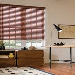 Faux Wood blinds for the summer heat